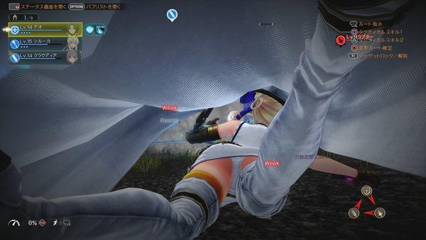グランクレスト戦記 パンチラ PS4 (3)