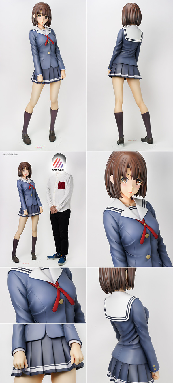 冴えない彼女の育てかた 加藤恵 等身大フィギュア パンツ (8)