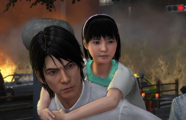 『巨影都市』ゲーム画面でヒロインの女の子がちょっとだけパンツが見えてるパンチラ画像!のサムネイル画像