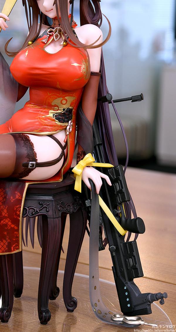 ドールズフロントライン DSR-50 チャイナドレス フィギュア エロ (2)