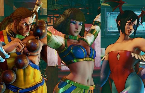 『ストリートファイターV』に『ヴァンパイア』シリーズのエロいリリスの衣装など追加DLC!のサムネイル画像