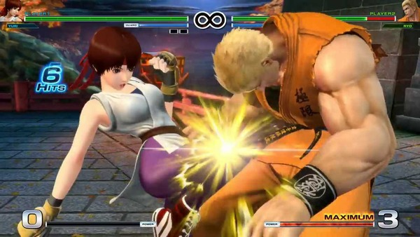 THE KING OF FIGHTERS XIV エロ ユリ・サカザキ (6)