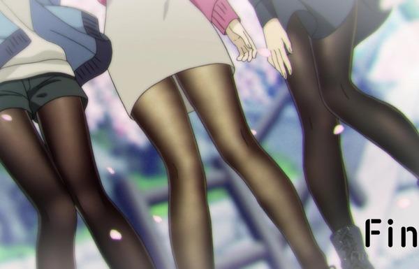 アニメ『みるタイツ』12話で女の子たちのエロいタイツ姿がすごく強調されたエロい最終回!のサムネイル画像