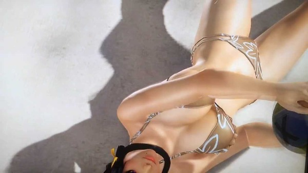 デッドオアアライブエクストリーム3 やわらかエンジン おっぱい (3)