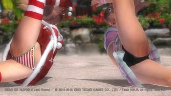 デッドオアアライブ5ラストラウンド パンツ エロ PS4 (109)