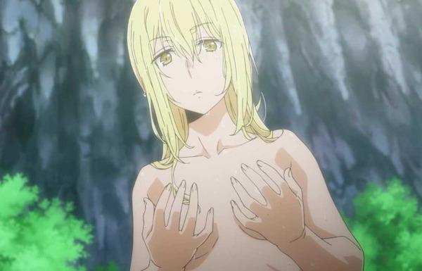 アニメ『ソード・オラトリア ダンまち外伝』女の子が全裸姿のエロシーン!4月放送開始のサムネイル画像