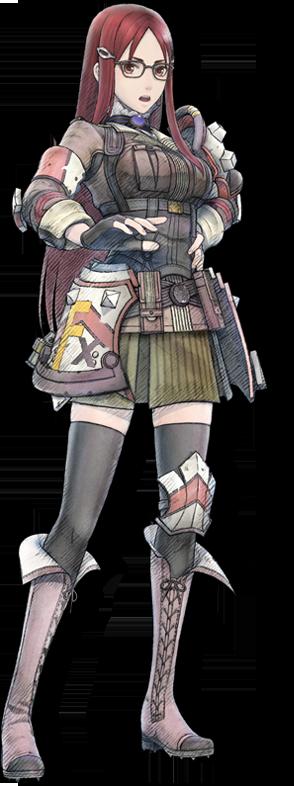戦場のヴァルキュリア4 エロ ミネルバ アンジェ (2)