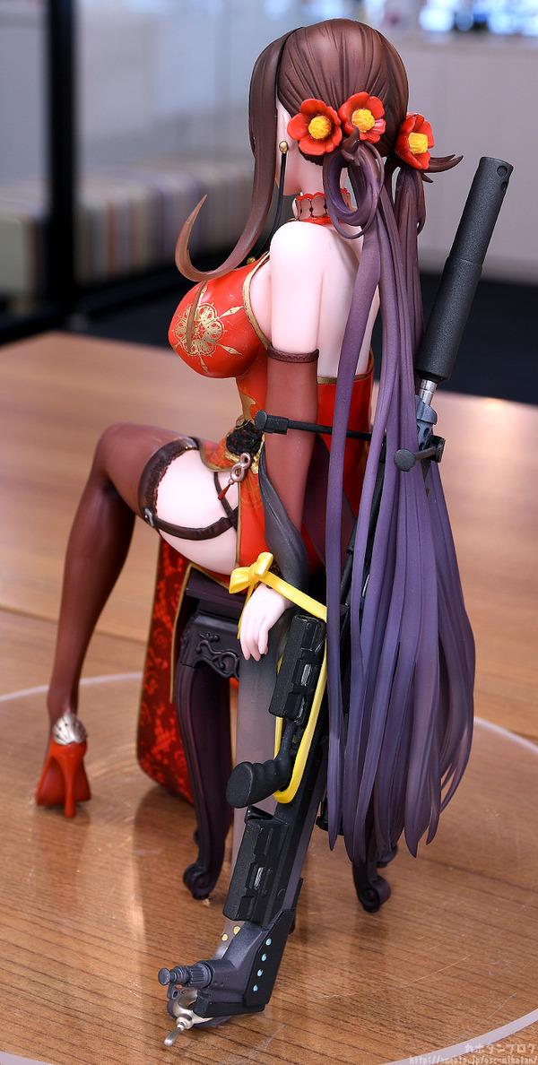 ドールズフロントライン DSR-50 チャイナドレス フィギュア エロ (9)