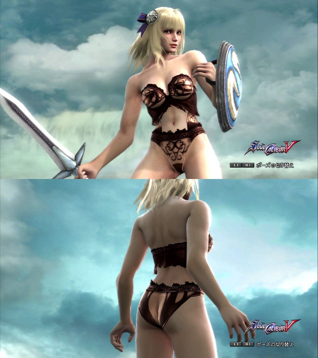 Soulcalibur ii nude patch for secretary erotic comic