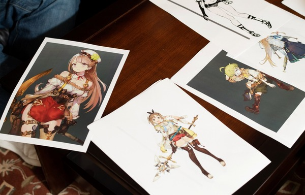 『ライザのアトリエ』ライザなどのえっちな女の子たちの初期設定のキャラデザ案など!のサムネイル画像