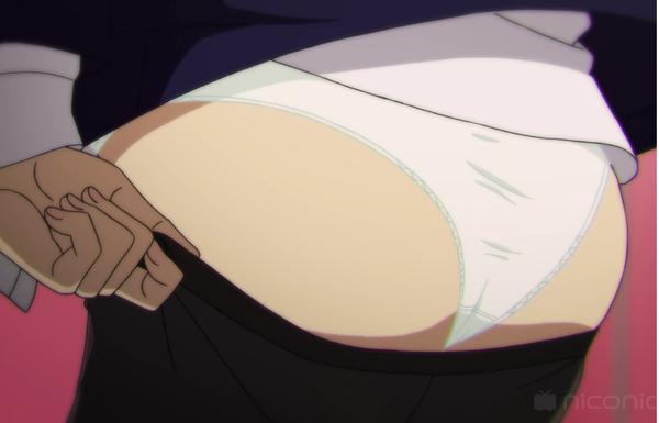 アニメ『みるタイツ』3話で伝線した破れタイツとエロいタイツを履くパンツ丸見えシーン!のサムネイル画像