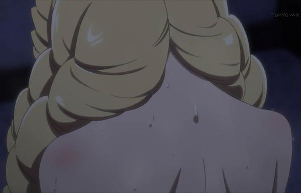 アニメ『コンセプション』6話で女の子のエロい裸を拭くエロシーンやえっち子作りシーン!