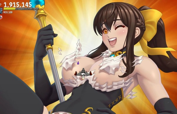 スイッチ『Waifu ディスカバード2:中世ファンタジー』エロ脱衣シューティングゲームの続編!のサムネイル画像