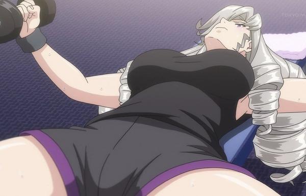 アニメ『神田川 JETGIRLS』2話で女の子のエロい脱衣やエロいシャワーシーンなど!のサムネイル画像