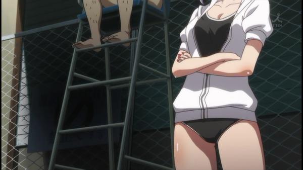 だがしかし 水着 濡れ透け (5)