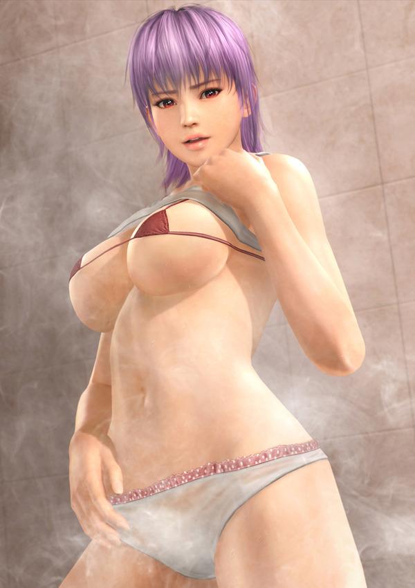 デッドオアアライブエクストリーム3 お風呂ポスター エロ (6)
