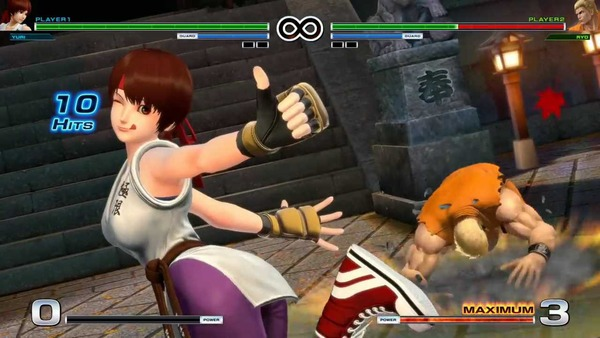THE KING OF FIGHTERS XIV エロ ユリ・サカザキ (2)