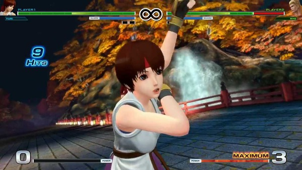 THE KING OF FIGHTERS XIV エロ ユリ・サカザキ (4)