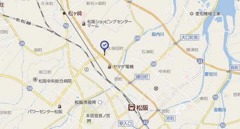 尾張書店松阪店地図2