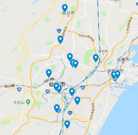 仙台 中心