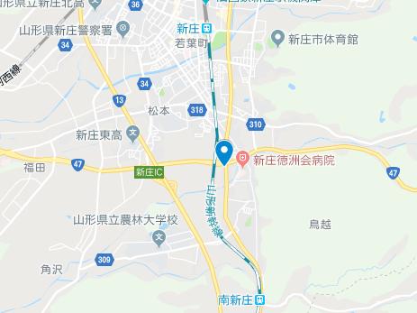 新庄市 地図
