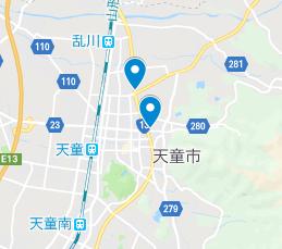 天童市 地図