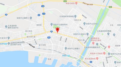 東京書店釧路鳥取店 地図3