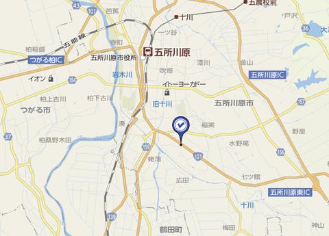 カルチャー五所川原 地図3