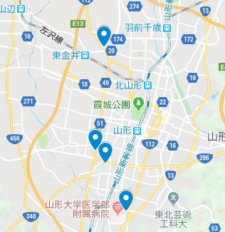 山形市 地図