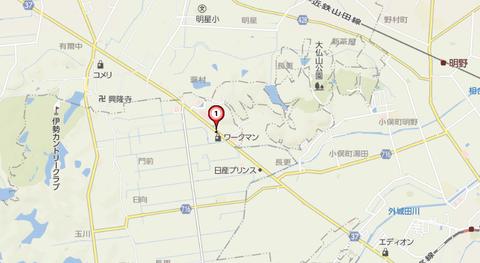 尾張書店玉城店地図2
