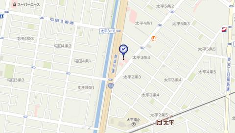 スポット太平店 地図