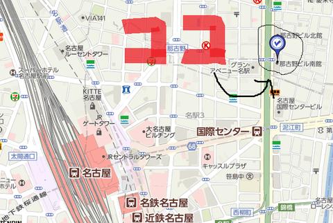 国際センター 地図