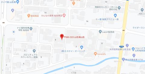 メディアゾーン桜田店 地図2