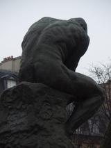 rodin/thinkin back