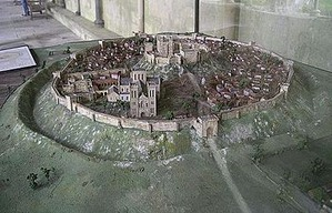 350px-Old_Sarum_Model_from_West