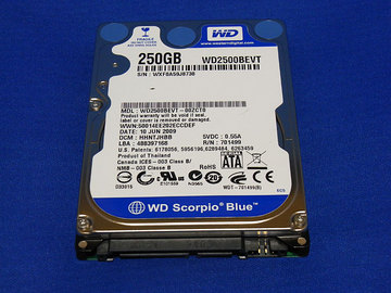 WD2500BEVT