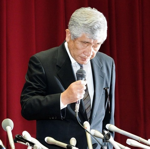 【アメフト】内田前監督、日大の常務理事の職務を一時停止し謹慎 井上コーチは辞任