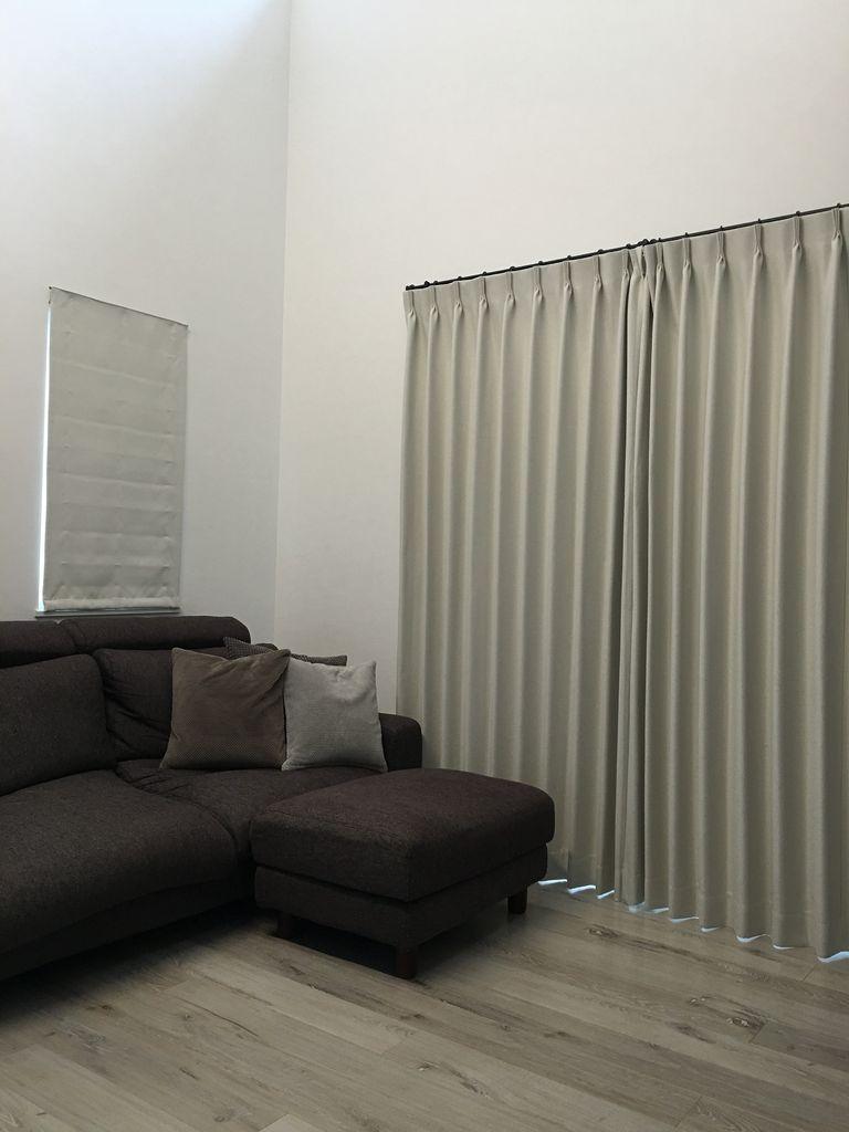 我が家のカーテン&ikeaプリーツブラインドのビックリお値段以上