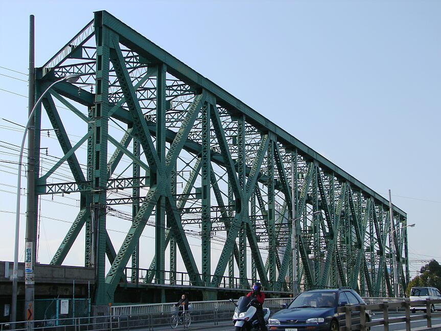 真弓屋 橋梁研究所:岩崎運河東橋...