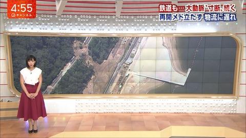 竹内由恵 スーパーJチャンネル 18/07/12