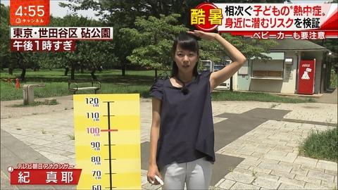 紀真耶 スーパーJチャンネル 18/07/19