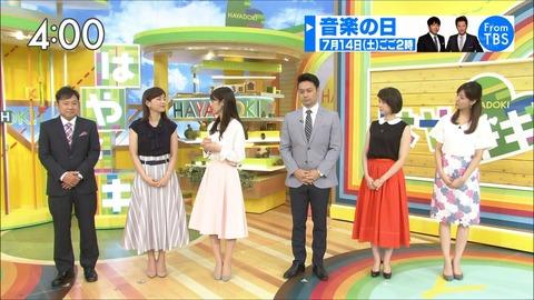 尾崎朋美 はやドキ! 18/07/13