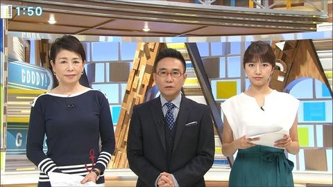 三田友梨佳 グッディ! 18/07/13