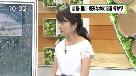 日比麻音子 ひるおび! 18/07/11