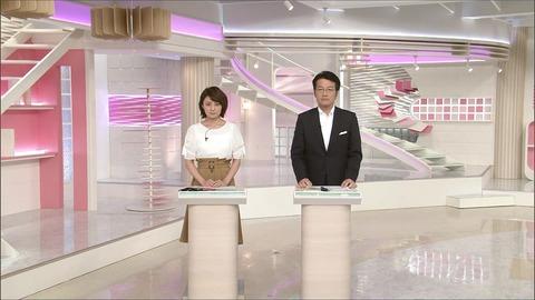 久野静香 news every. サタデー 18/07/14