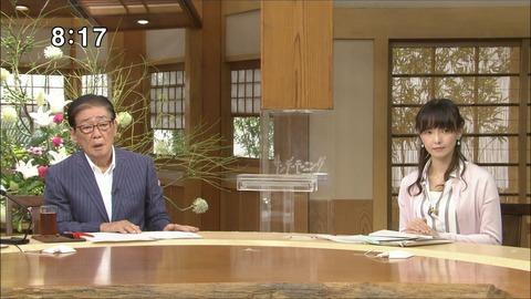 水野真裕美 サンデーモーニング 18/07/15