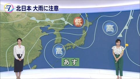 平野有海 ニュース7 18/07/12