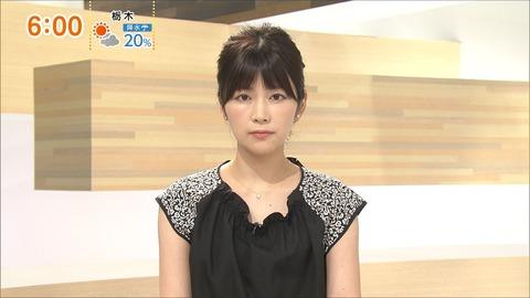 竹内友佳 FNNニュース 18/07/15
