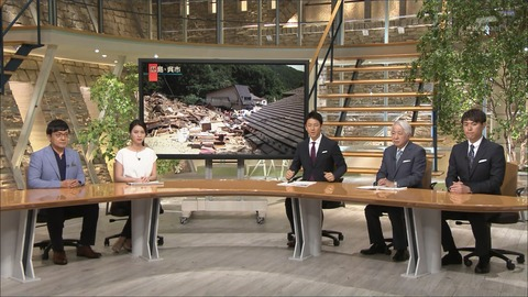 小川彩佳 報道ステーション 18/07/12