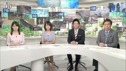 皆川玲奈 NEWS23 18/07/13